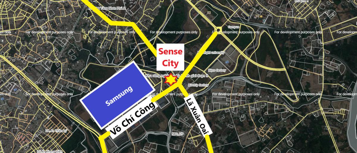 Sense City Quận 9 ở đâu ?