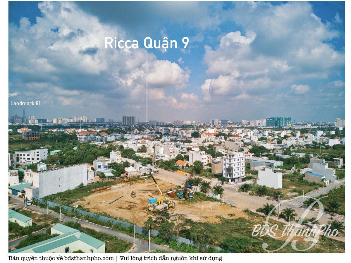 Dự án chung cư Ricca Quận 9